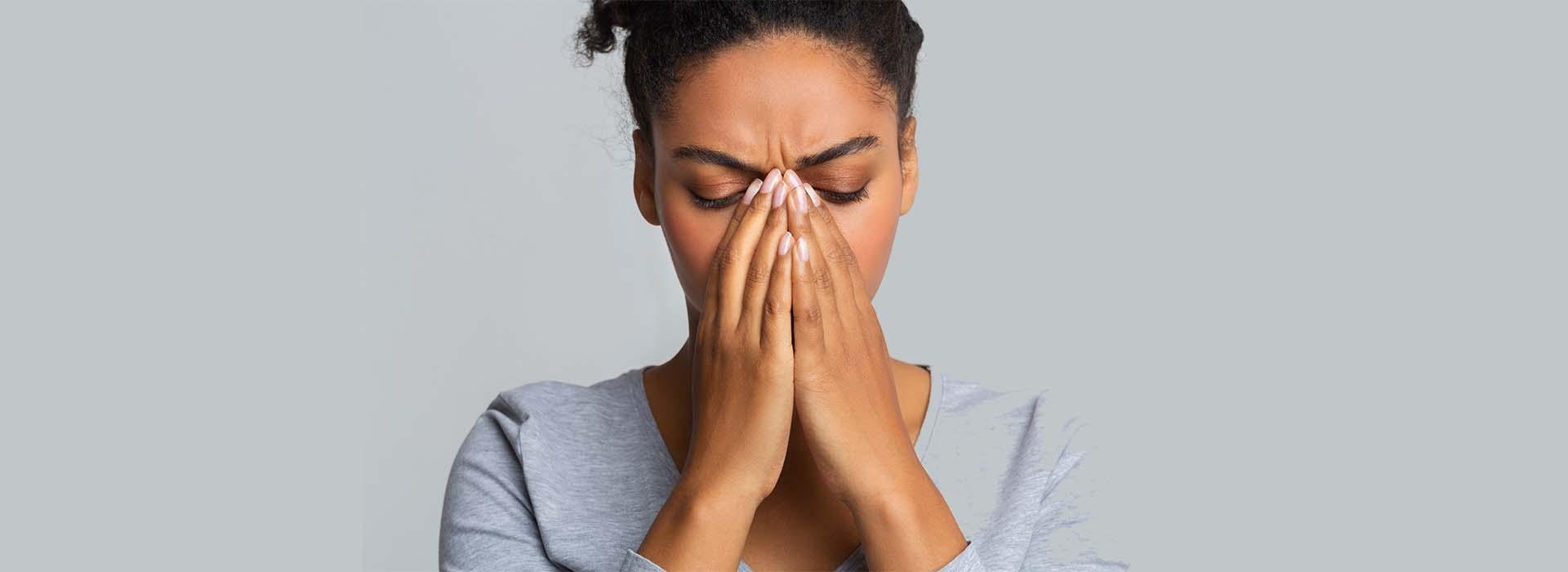nariz mal operada