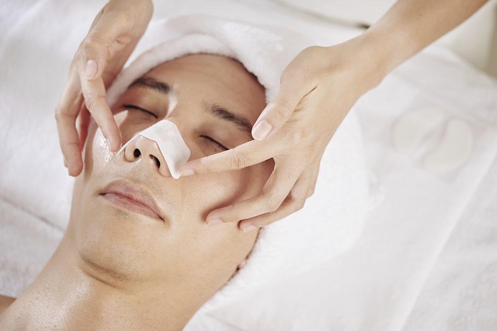 Rinoplastia inflamación punta nariz
